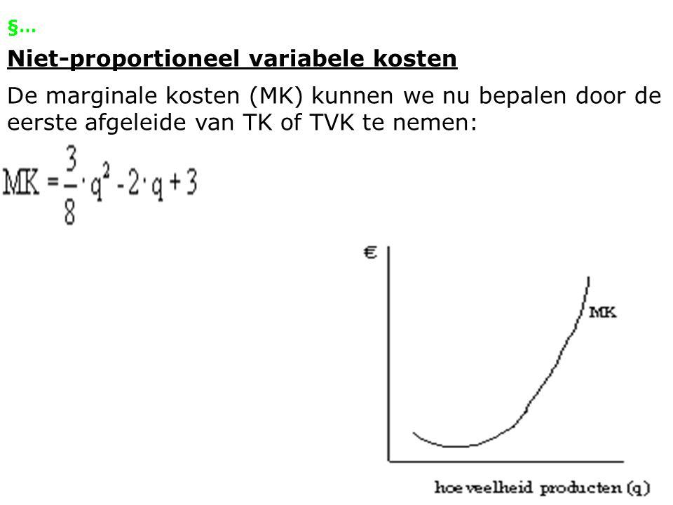 Marginale opbrengsten & Marginale kosten http://www.percent.nl/onlineleren/onlinelerenfiles/beterbegrip/mo =mk/index3.asp?soundPath=44 Dia 5 & 17
