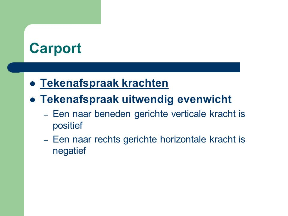 Carport + + -- +