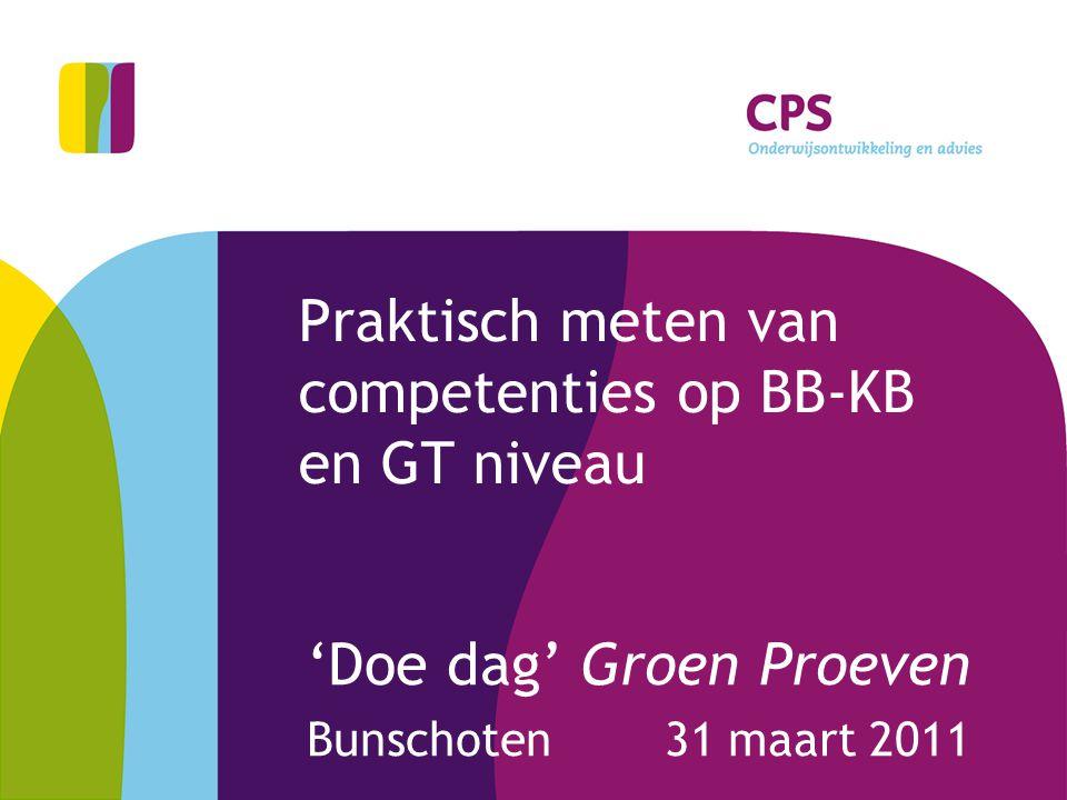 2 Welkom Scilla van Cuijlenborg -beleidsmedewerker VMBO -projectleiding Groen Proeven E: svancuijlenborg@groenhorstcollege.nl M: 06-44062164 Cees de Jong -consultant (groen) beroepsonderwijs (VMBO-MBO-HBO) -secretaris VBG CPS Amersfoort E: c.dejong@cps.nlc.dejong@cps.nl M: 06-21247948