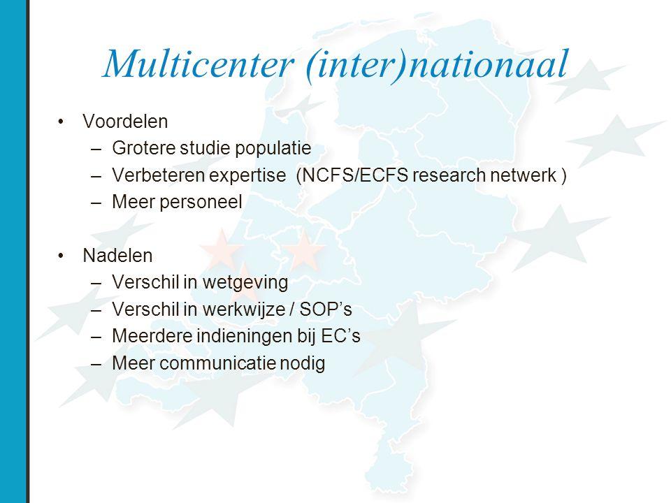 ECFS-CTN Netwerk van expert CF centra Samenwerking in klinische research