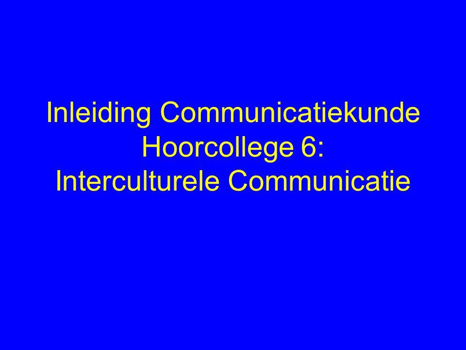Interculturele communicatie internationale communicatie (vreemde taal, lingua franca) communicatie in de multiculturele samenleving (tweede taal, taalcontact)