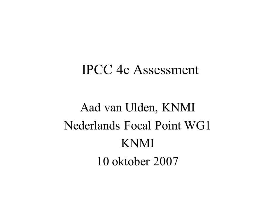 Inhoud I Wat is IPCC ? II Wat houdt een assessment in ? III Kanttekeningen bij het 4e assessment