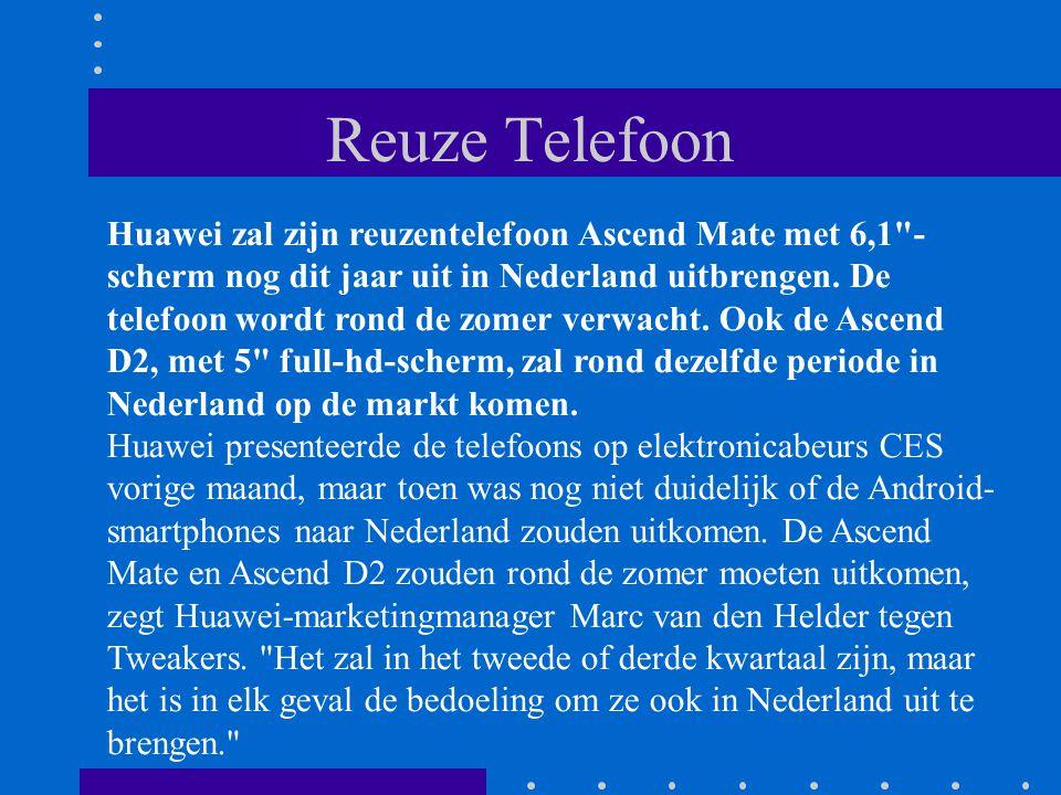 Ontwikkeling Telefoons Telefoons zullen in de komende jaren weer dikker worden, naarmate de opvolger van 4g steeds vaker wordt toegepast.