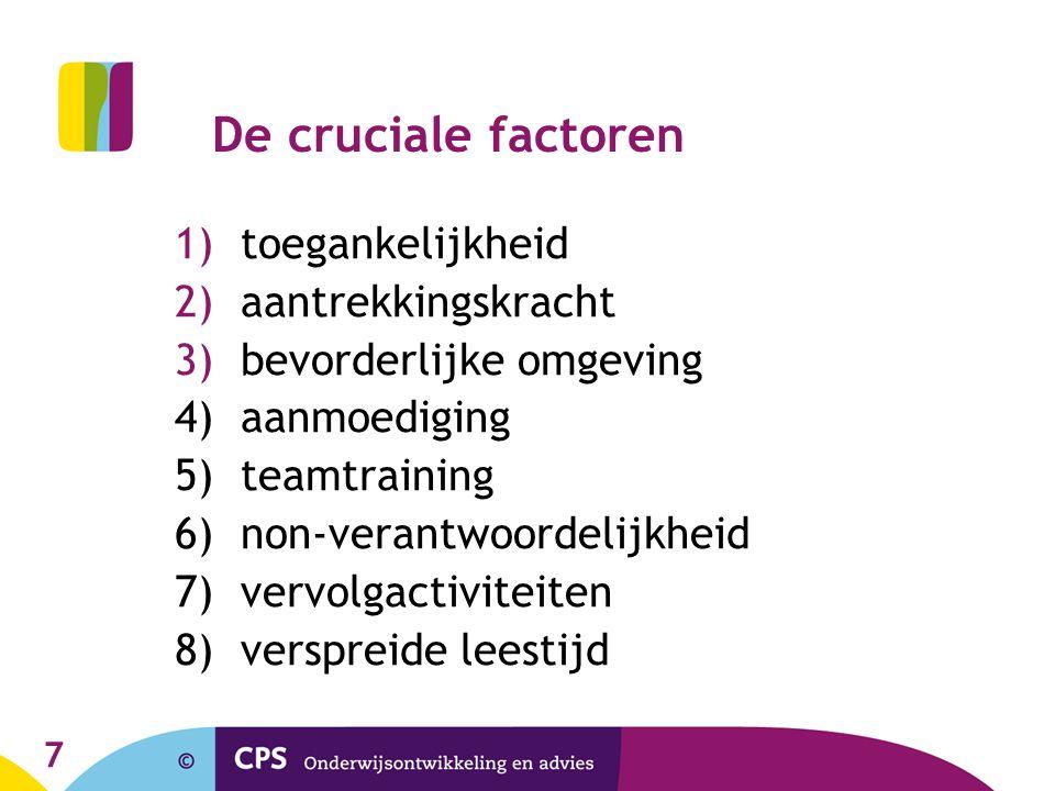 8 Inbeddingsmogelijkheden 1.(deels) binnen NL 2. (deels) binnen een extra uur taal 3.