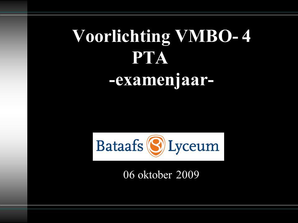 2 Welkom  T.de Boer, mentor 4TA  A. Wesselink, mentor 4TB  H.
