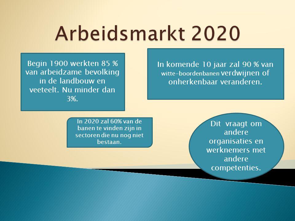 Competenties 2007 volgens werkgevers