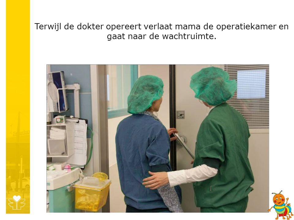 Als de operatie klaar is ga je naar de uitslaapkamer.