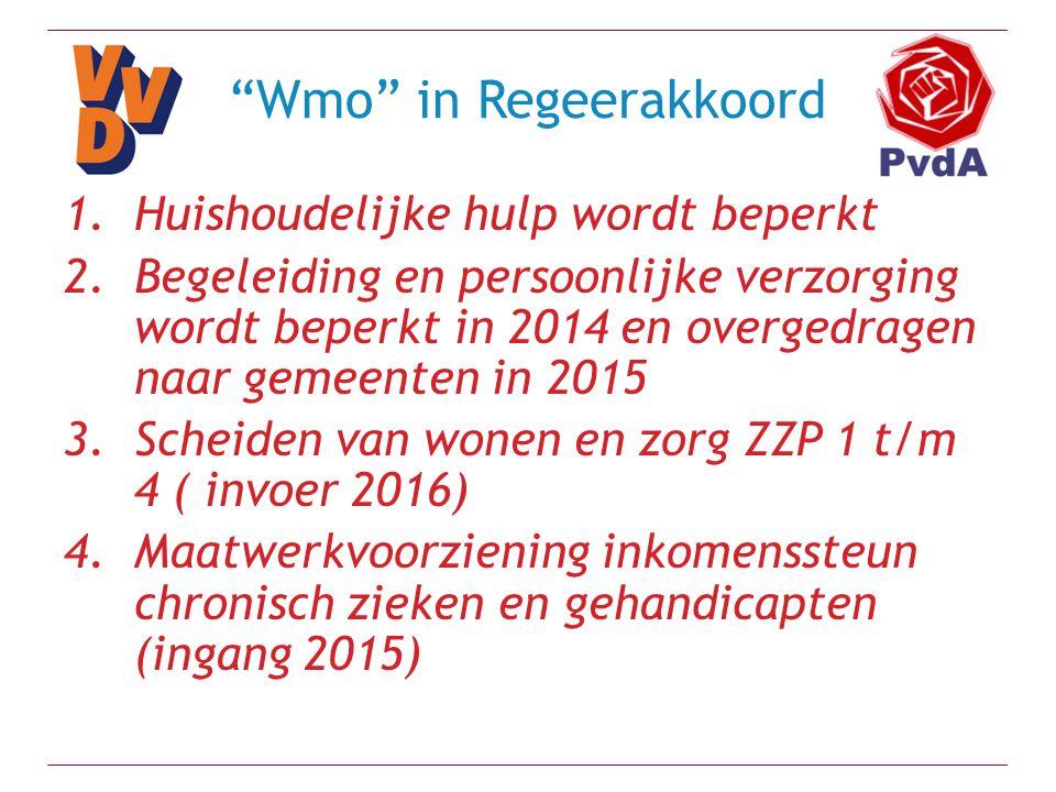 Bijstelling Regeerakkoord Motie Zijlstra-Samsom (zorgpremie) Woonakkoord (D66, ChristenUnie en SGP) Sociaal akkoord (Werkgevers, vakbonden) Zorgakkoord 1 (Werkgevers, vakbonden -/-) Zorgakkoord 2 (Ziekenhuizen) Energieakkoord (Werkgevers, vakbonden, milieubeweging) Begrotingsakkoord (D66, ChristenUnie en SGP)
