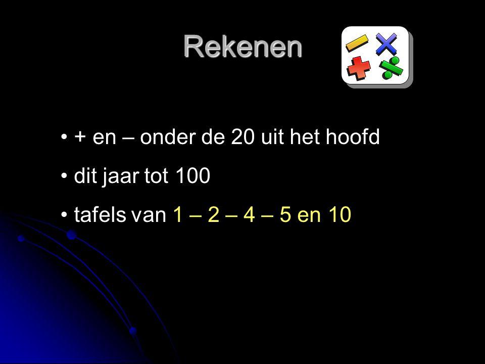 Thuis hardop oefenen 1 x 2 = 2 2 x 2 = 4 3 x 2 = 6 4 x 2 = 8 5 x 2 = 10 6 x 2 = 12 7 x 2 = 14 8 x 2 = 16 9 x 2 = 18 10 x 2 = 20 Tafelschriftje mee
