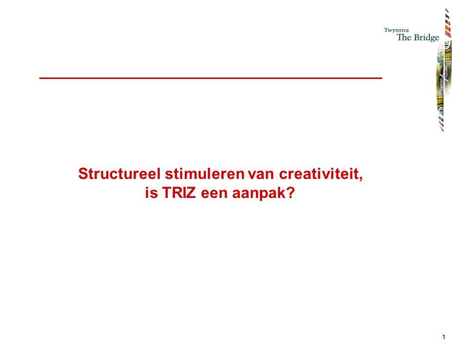 2 Meer creativiteit ja, maar niet in plaats van wetenschap.