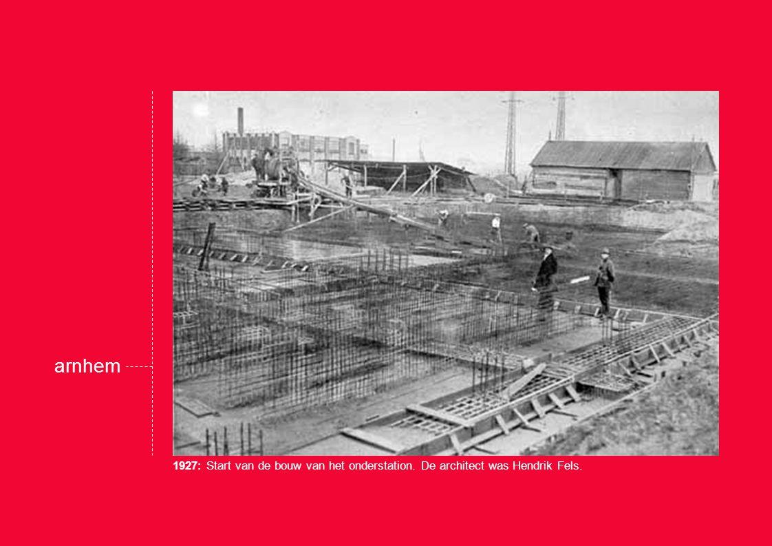 In 1930 vindt de officiële ingebruikname plaats.