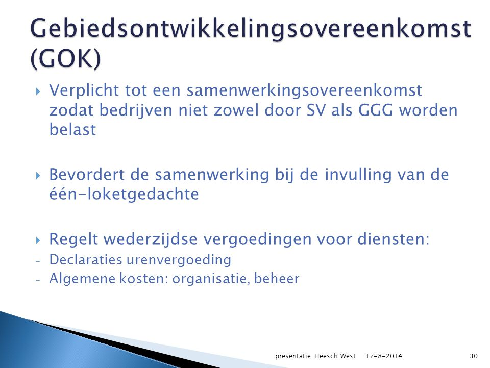 PROCEDURE 17-8-2014presentatie Heesch West31
