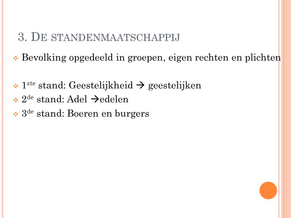 4. F EODALE SYSTEEM