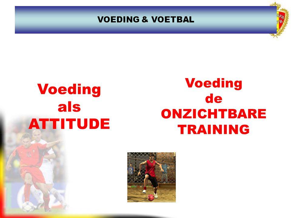 www.joostdesender.be VOEDING & VOETBAL KENNIS Interesse, open staan…..