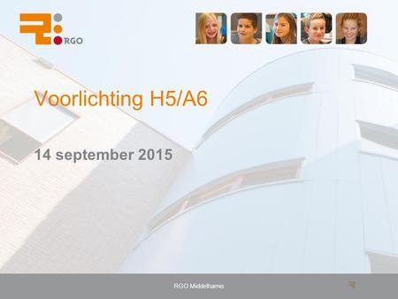 RGO Middelharnis Voorlichting H5/A6 14 september 2015.