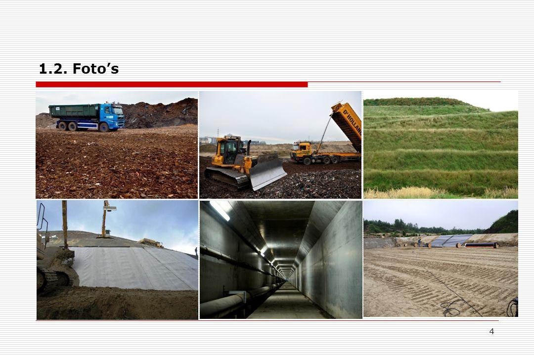5 2.Solidificatie en stabilisatie van bedrijfsafvalstoffen 2.1.