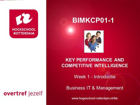 KEY PERFORMANCE AND COMPETITIVE INTELLIGENCE