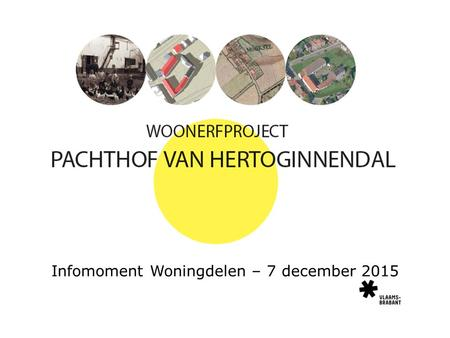 Infomoment Woningdelen – 7 december 2015. Voorstelling door: Rob Van Hees Paul Corthouts.