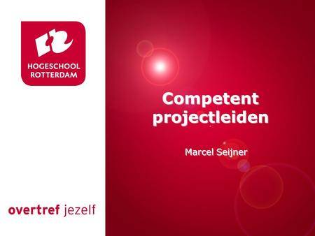 Competent projectleiden