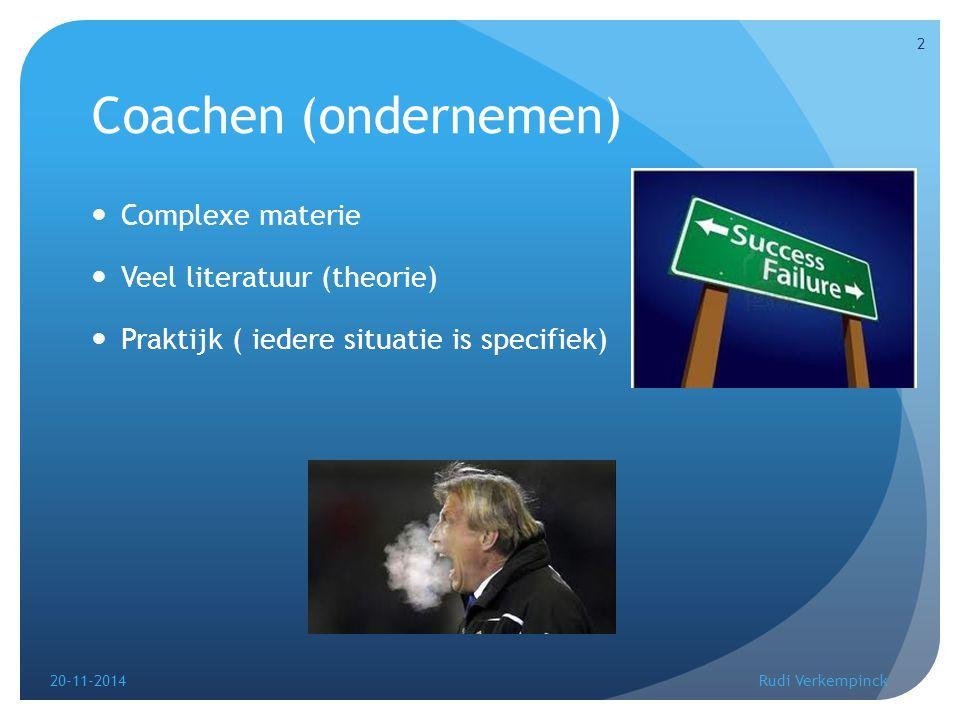 De succesformule ( De waarheid) 20-11-2014Rudi Verkempinck 3