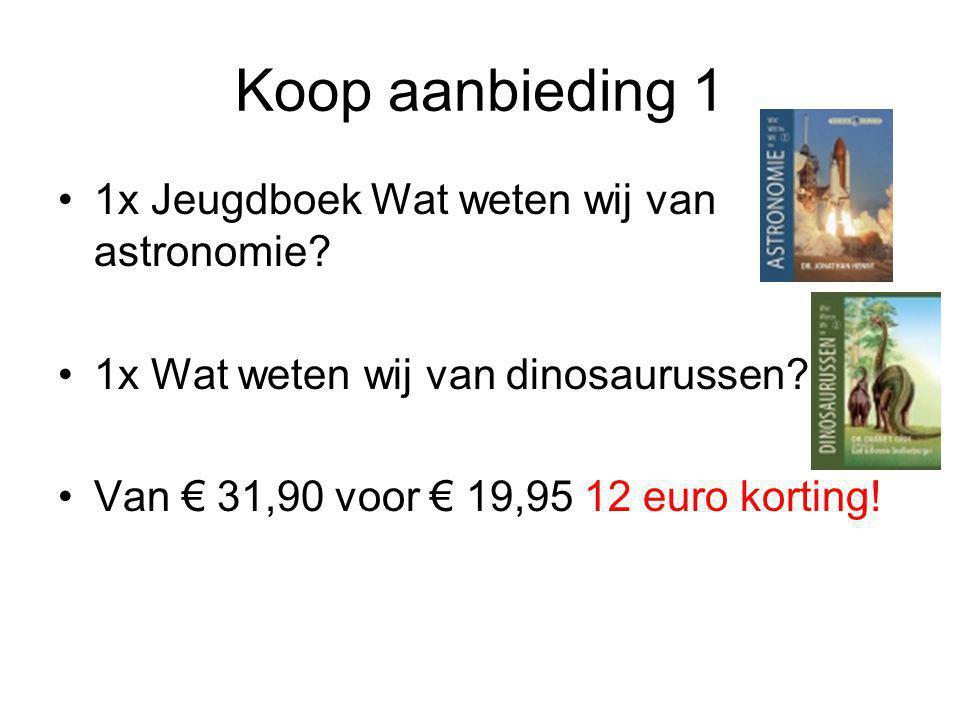 Koop aanbieding 2 1x Evolutie – Het nieuwe studieboek 1x Terug naar de oorsprong – of hoe de nieuwe biologie het tijdperk van Darwin beëindigt Van € 59,90 voor € 29,95 30 euro korting.
