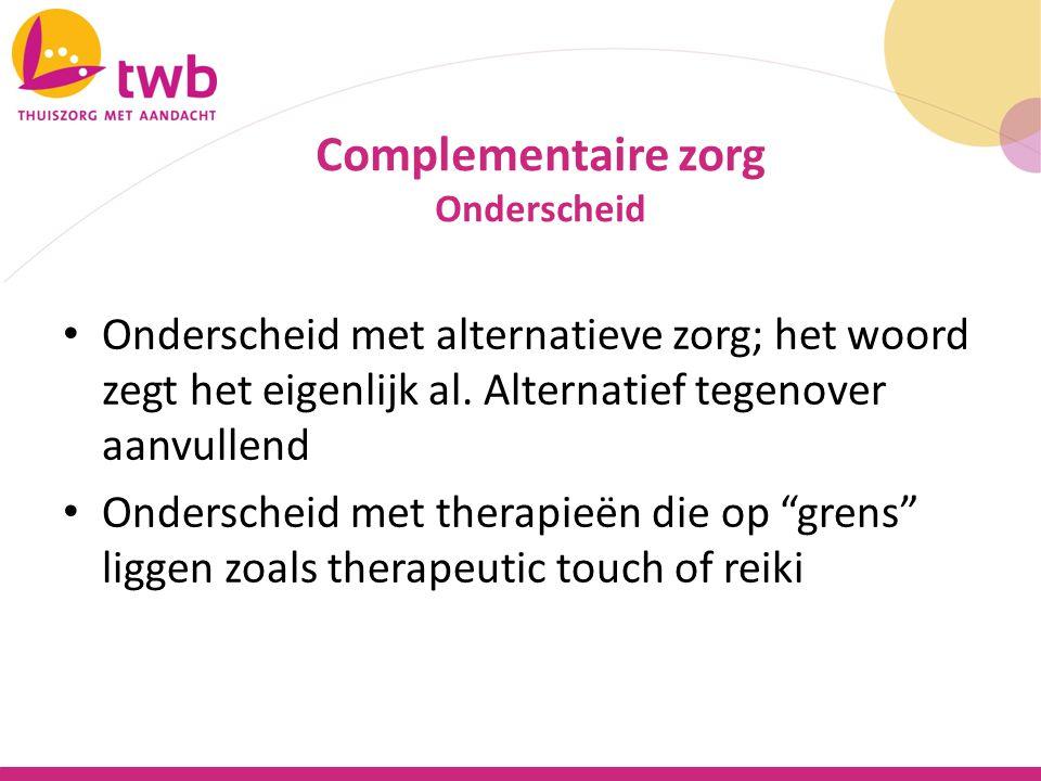 Lastig: De KNMG wijst alle complementaire en alternatieve geneeswijzen af die niet door artsen worden uitgevoerd.