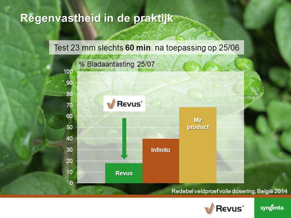 Phytophthora – Regenvastheid - Redebel, D117-2014 Regen: 23 mm op 25/06, at T3