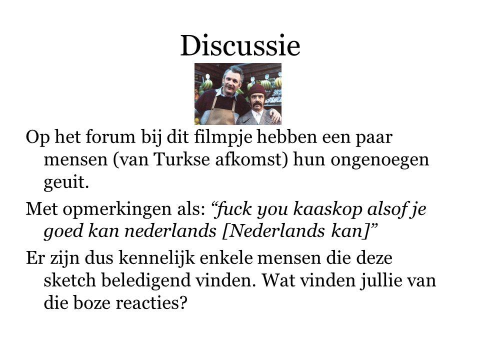 Discussie Een Nederlandse forumbezoeker reageert op het filmpje: Een Turk zou nooit om een pondje appels vragen. Dit is om verschillende redenen een totaal misplaatste opmerking.