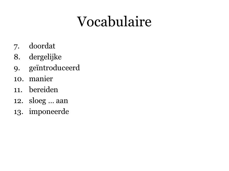 Vocabulaire 14.Pas