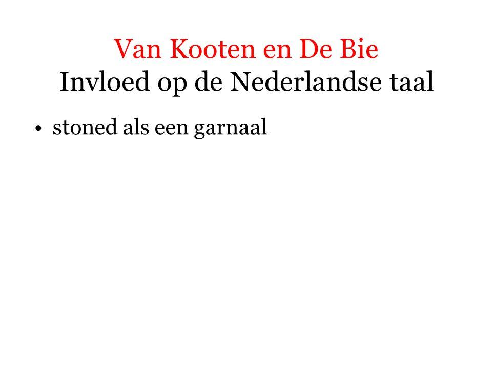 Van Kooten en De Bie Invloed op de Nederlandse taal stoned als een garnaal doemdenken
