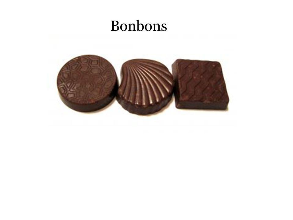 Pure chocolade = fondant chocolade (Vlaams) Donkere, zwarte, bittere chocolade