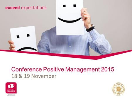 Conference Positive Management 2015 18 & 19 November.