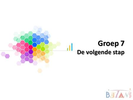 Groep 7 De volgende stap. Tankertanker Design Example text Go ahead and replace it with your own text. This is an example text. Your own footerYour Logo.