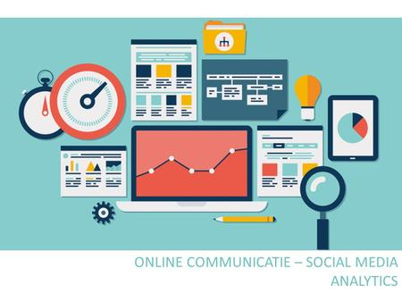 ONLINE COMMUNICATIE – SOCIAL MEDIA