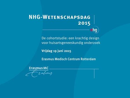 Latent class growth analysis als succesvolle methode om subgroepen te identificeren binnen een gewichtsreductie interventie. Bastiaan C. de Vos¹, MD,