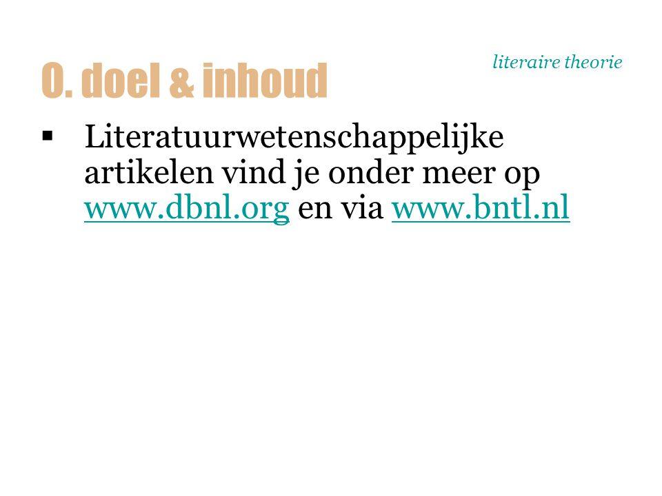 literaire theorie wetenschap >cultuurwetenschap > literatuurwetenschap 1. het vak