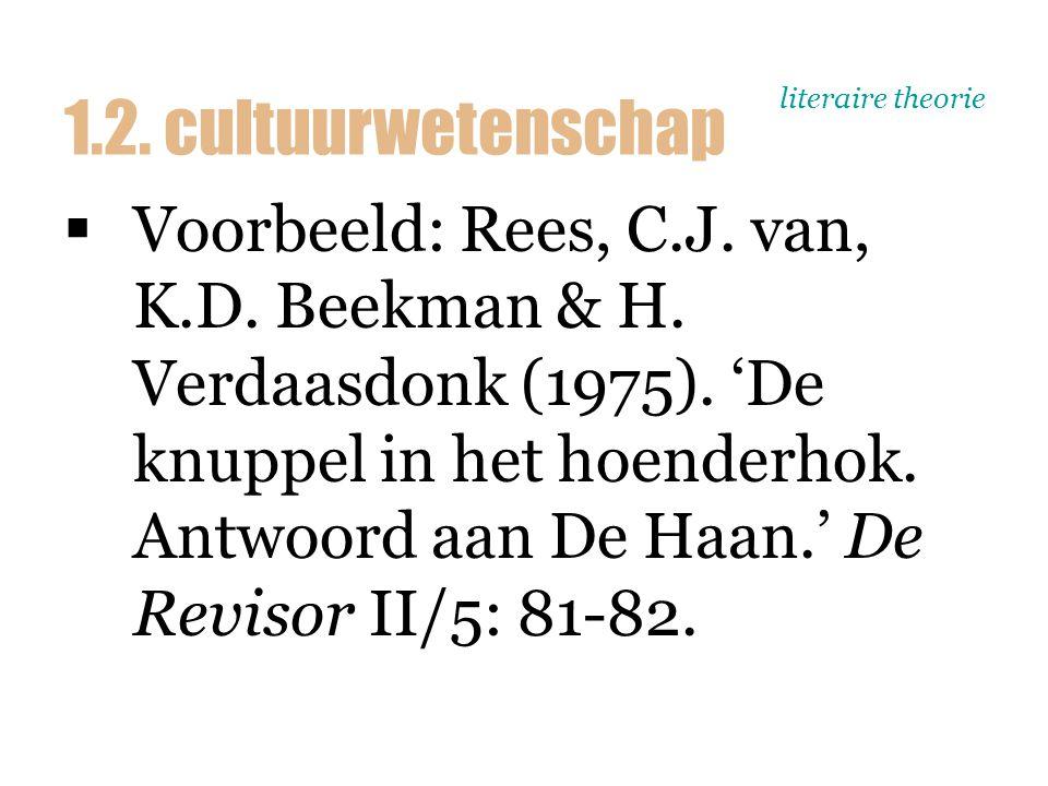 literaire theorie  Hugo Verdaasdonk  Grondlegger institutionele sociologie in Nederland  Wetenschapsfilosofische opvatting: wetenschappers moeten een metastandpunt innemen 1.2.