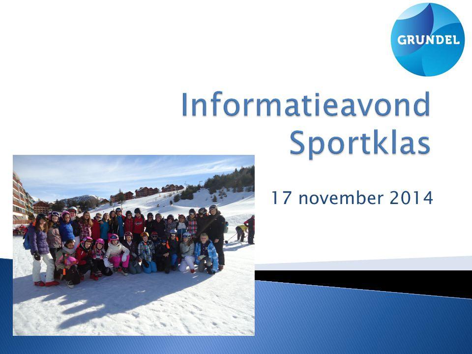  Welkom  Inhoud Sportklas  Sportklas iets voor uw zoon of dochter?.