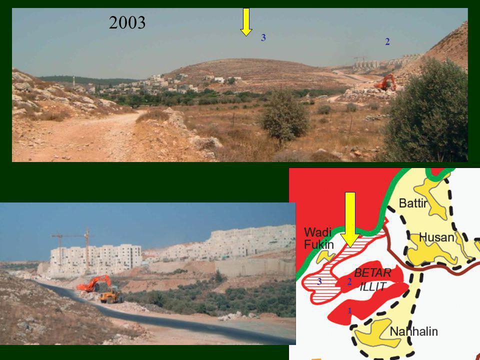 2008 Totaal aantal kolonisten 2008: op de WB: 260.000 en 180.000 in Oost-Jeruzalem (Passia) De holding Dexia financiert de kolonies die illegaal zijn volgens internationaal recht.