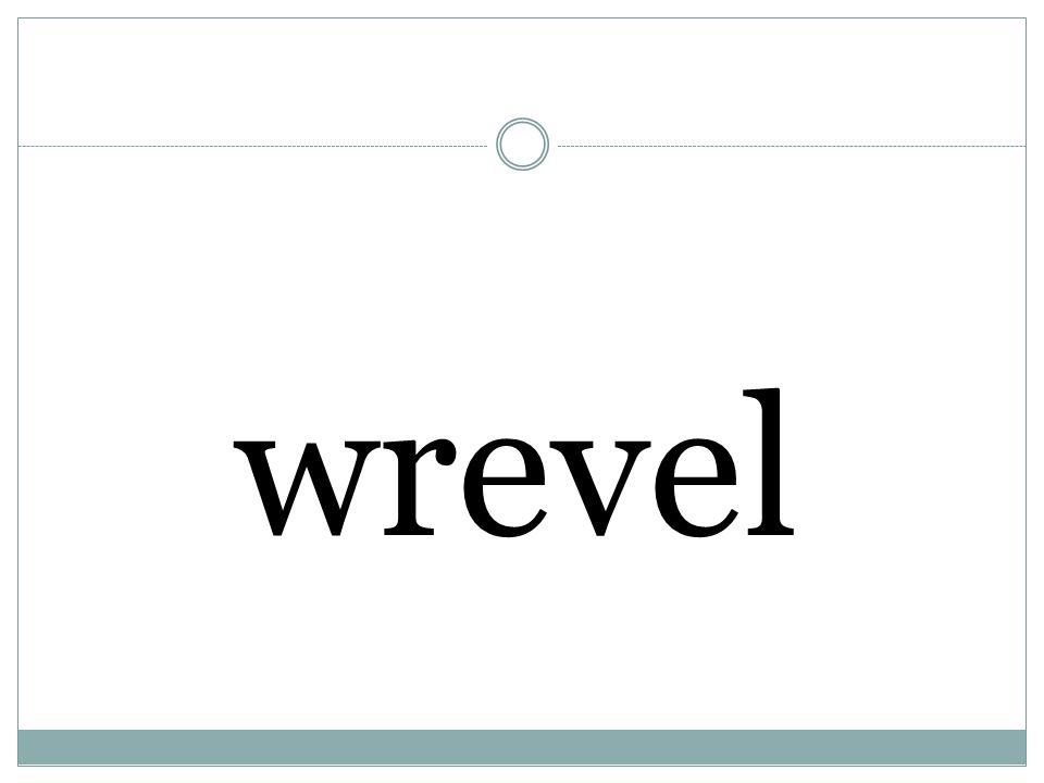 wrevel