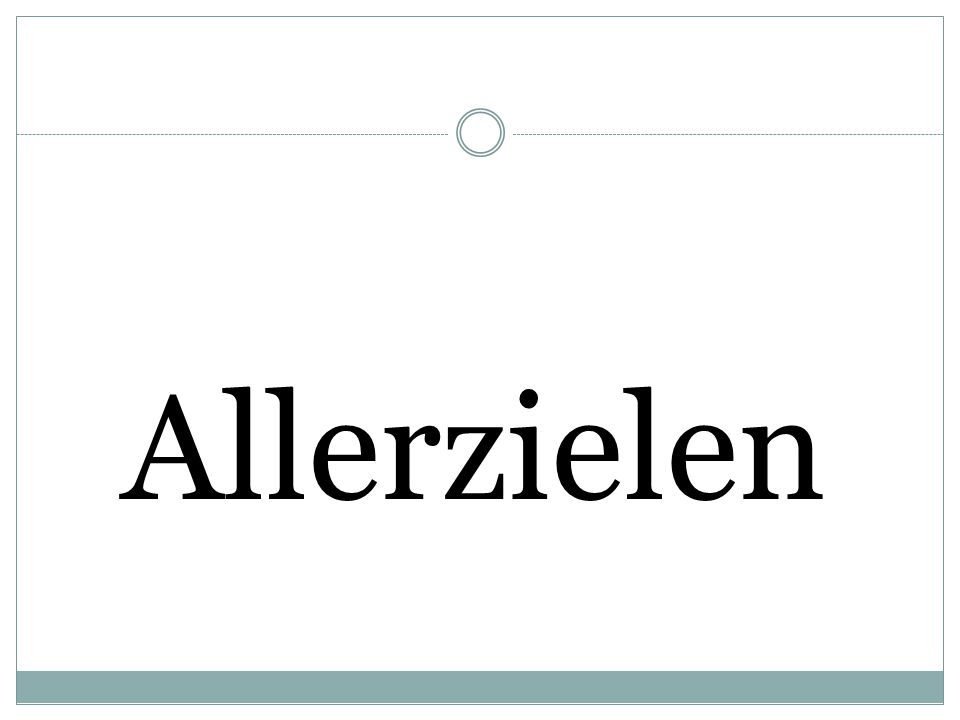 Allerzielen