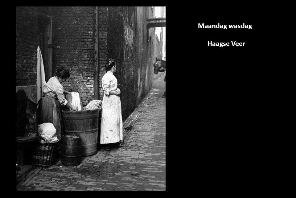 Maandag wasdag Haagse Veer