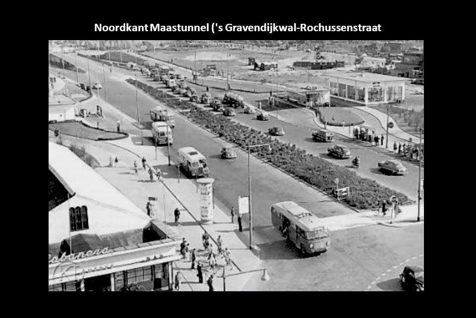 Noordkant Maastunnel ( s Gravendijkwal-Rochussenstraat