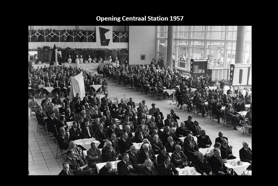 Opening Centraal Station 1957