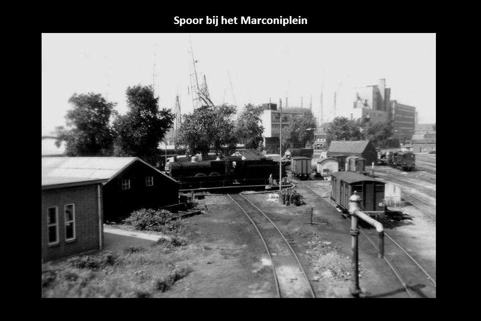 Spoor bij het Marconiplein