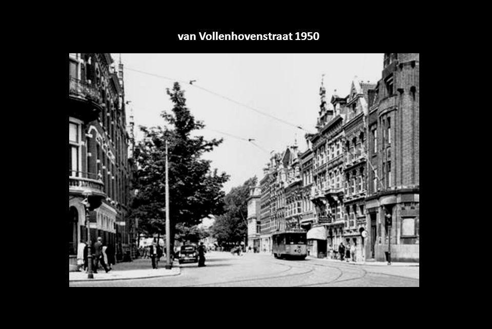 van Vollenhovenstraat 1950