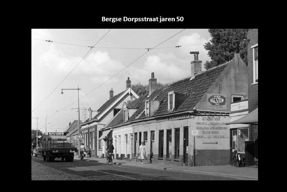 Bergse Dorpsstraat jaren 50