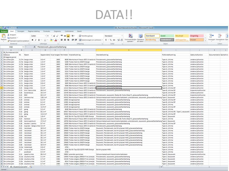 3D BIM DMS Document Management Systeem DATABASE BACKBONE 3D & Data altijd toegankelijk op alle apparaten en alle platformem Integraal BIM Platform, stekkerklaar voor toekomstige uitbreidingen FMIS Toekomstige functies / uitbreidingen / databases d.m.v.