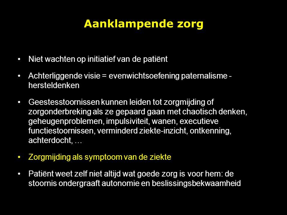 Regie uit handen van pt zonder duidelijk mandaat van pt – paternalisme – beter weten wat goed is voor de patiënt .