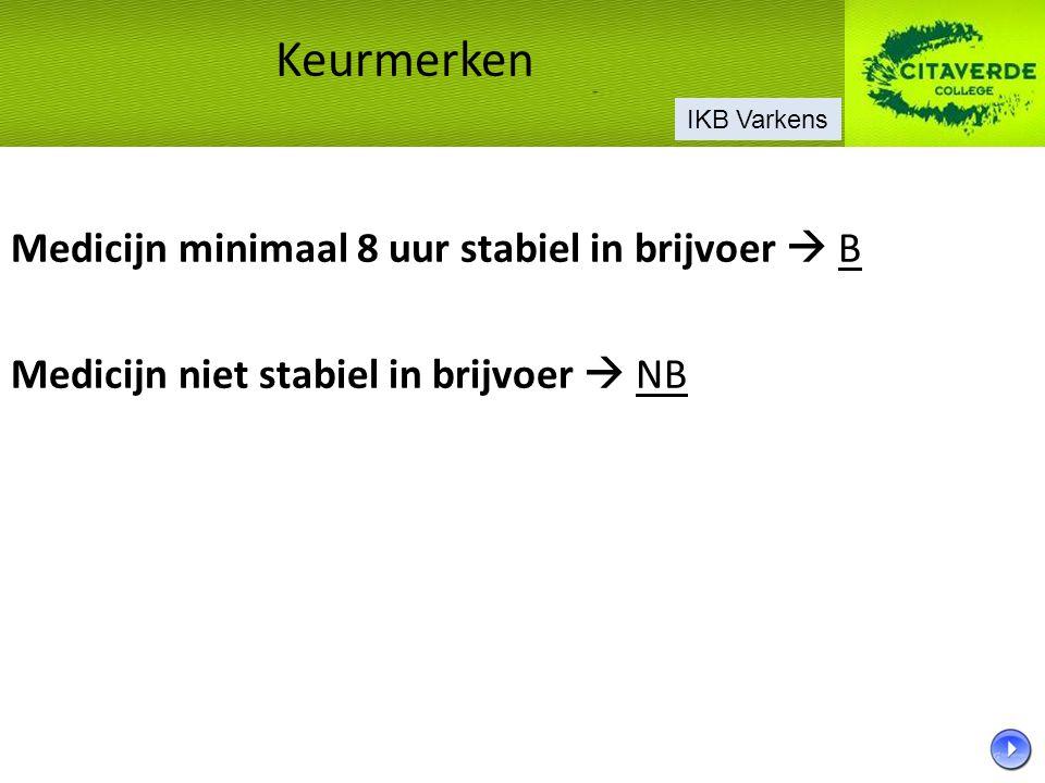 Varkensvoer Voorschriften voor o.a.opslag en gebruik voer.